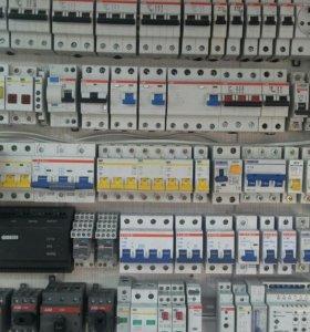 ЭЛЕКТРИКА. Автоматы, кабель, щиты, розетки.