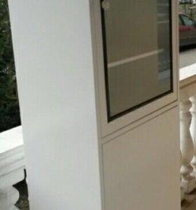 Шкаф цельносварной металлический в салон красоты