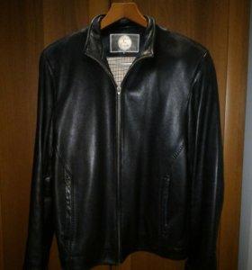 Куртка кожанная мужская