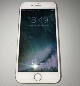 Продам iPhone 6s 64 gb gold