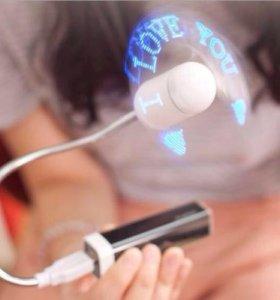 USB вентилятор Coms IT936 LED програм