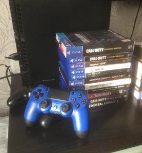 PlayStation 4 с комплектом игр