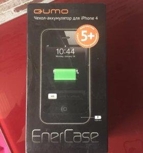 Чехол-аккумулятор для iPhone 4