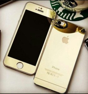 Парные защ стекла iPhone 5s