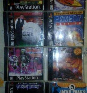 Диски на Playstation.
