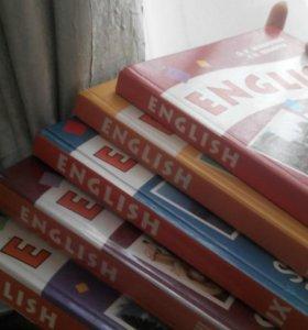 Учебники английского языка 7-11 кл