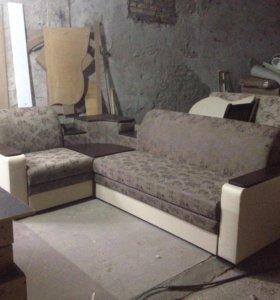 "Угловой диван ""Колобок"""