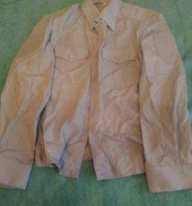 Новая рубашка Полиции на резинке