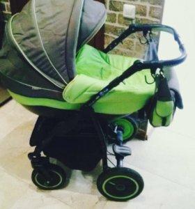 Детская коляска 2 в 1 Adamex Champion Alu