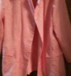 Пиджак новый,летний пошит на заказ