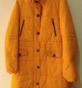 Куртка Flo & Jo зимняя желтая р. 48-50