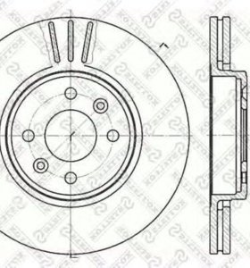 Тормозные диски на рено