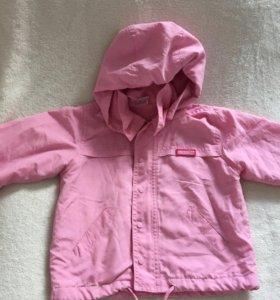 Куртка/ветровка на девочку 86-92 см