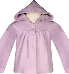 Курточка-кофта для девочки
