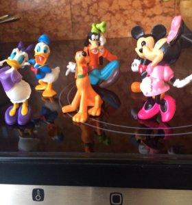 Фигурки Микки Маус и его друзья