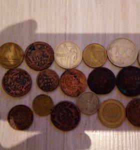 Редкие старинные царские монеты