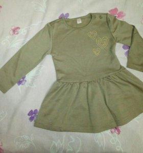 Платья для девочки 3шт
