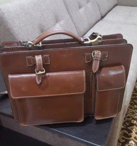 Кожаный портфельVera Pelle