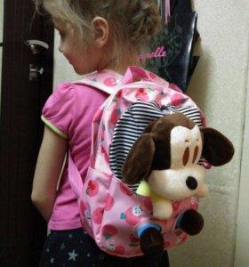 Рюкзак +игрушка