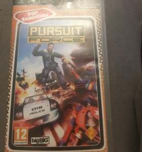 Pursuit Force на PSP