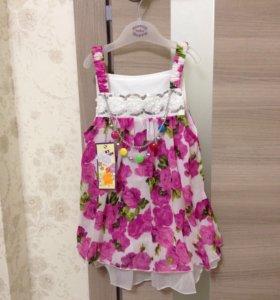 Новое платье для девочки 2-3 г