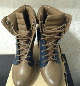 Ботильоны/сапоги/ботинки Zara TRF