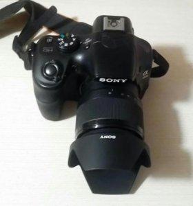 Зеркальный фотоаппарат Sony alfa 3500
