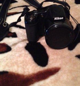 Фотоаппарат NIkon COOLPIX L820 и чехол