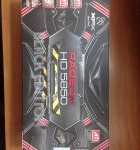 Видеокарты Radeon HD 5850