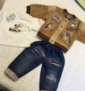 Куртка джинсы кофта детские