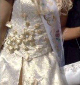 Вечернее Платье для выпускного или свадьбы