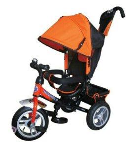 Новые трехколесные велосипед formula 3 оранж