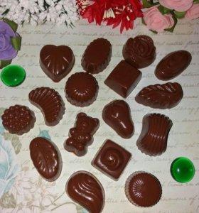 """Мыро ручной работы """"конфеты ассорти"""""""