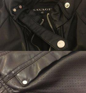 Женская кожаная куртка SAVAGE