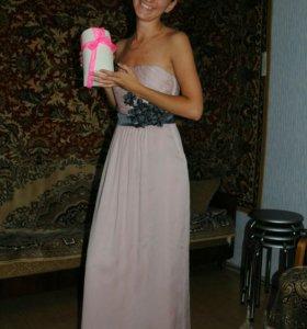 Вечернее выпускное платье 40-42