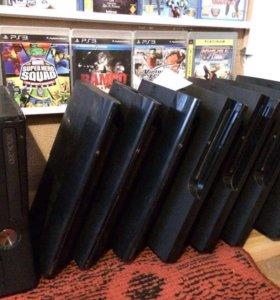 Игровые приставки PlayStation3, Xbox
