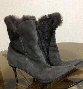Ботинки зимние р.38