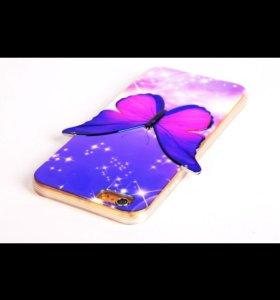 Чехол с бабочкой для Iphone 5