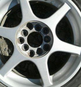 Резина+диски R15 5*100/5*114,3