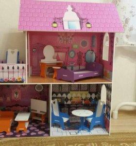 Домик для кукол в стиле Monster High