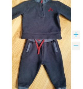 Спортивный костюм Mothercare, 9-12 мес