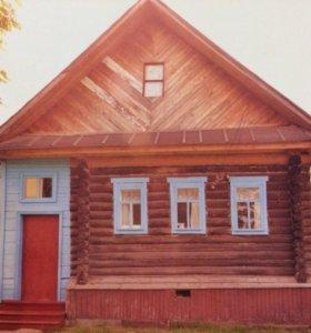 Продаётся участок с домом.
