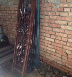 Ограды кресты кованные металлические