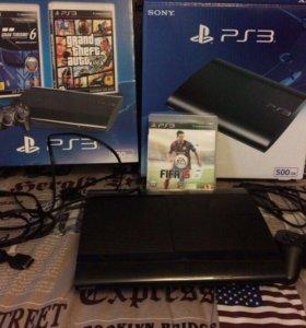 PS3 SuperSlim 500gb Black
