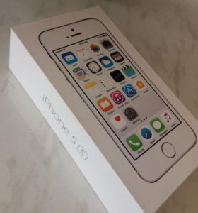 Коробка на iPhone 5s 16gb