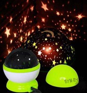 Детский ночник-проектор «Звездное небо»