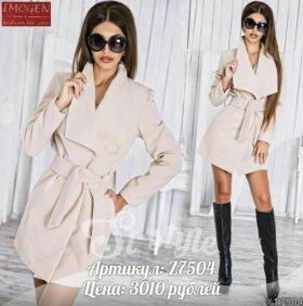 Новое весеннее пальто кашемир