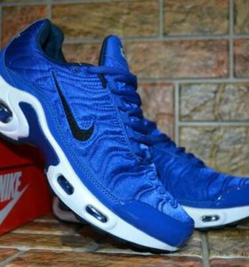 Кроссовки NIKE AIR MAX PLUS DARK BLUE