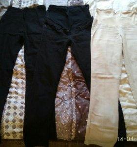 Брюки и джинсы (4шт)для беременных