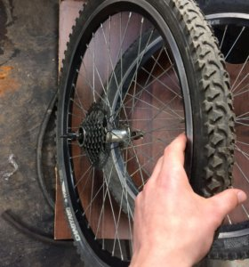 Колёса на велосипед 24х
